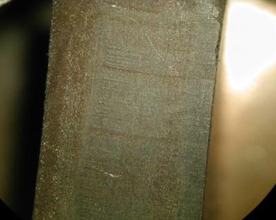 Laserschnitt in CBN Schneidplatte